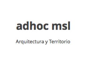 adhoc msl I Arquitectura y Territorio