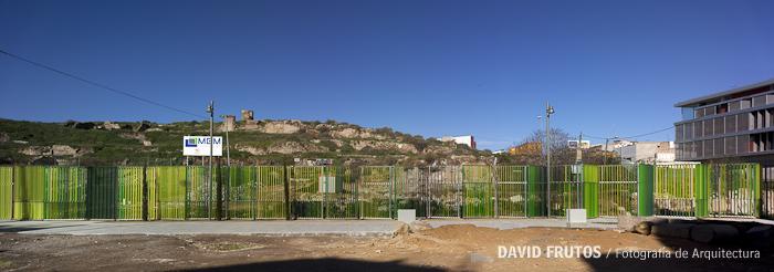 Cerramiento de el molinete en cartagena acm arquitectura - Arquitectura cartagena ...