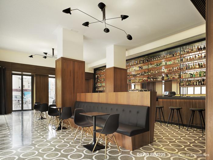 Cafeteria Moderna Aurelia Gonzalez David Frutos Fotografia De - Diseo-cafeterias-modernas