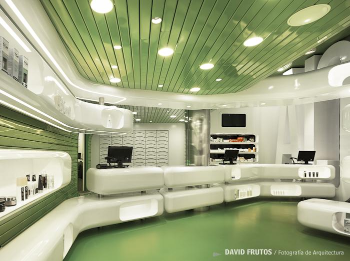 Farmacia en murcia clavel arquitectos david frutos fotografia de arquitectura - Clavel arquitectos ...