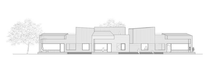 Vivienda para tres hermanas blancafort reus arquitectura - Alzado arquitectura ...